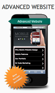 Mobile Website Advanced Package new