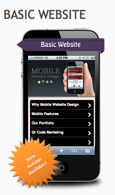 Mobile Website Basic Package new