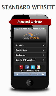 Mobile Website Standard Package